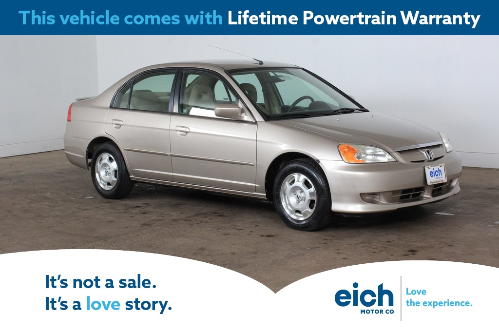 Pre-Owned 2003 Honda Civic Hybrid