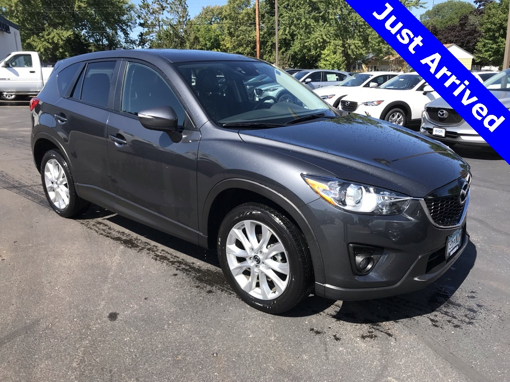 Certified Pre-Owned 2015 Mazda CX-5 Grand Touring AWD w/Tech Pkg & Nav