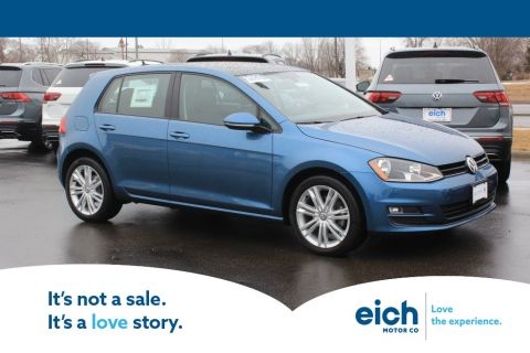 Pre-Owned 2015 Volkswagen Golf TDI SE 4-Door