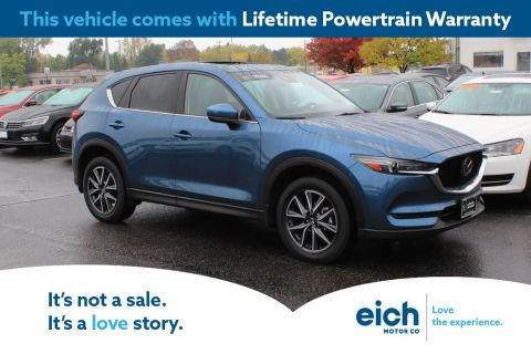 Certified Pre-Owned 2017 Mazda CX-5 Grand Touring AWD